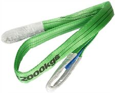 Webbing Sling 2Tonne 2m Lifting Strap Green With Certificate
