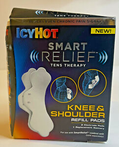 Icy Hot Smart Relief Knee and Shoulder Refill Pads TENS Therapy 2018 PLEASE READ