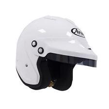 Arai GP-Jet/F w/ HANS anchors White S SA2005 Car Racing Helmet Go Kart