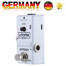 Nano Loop Gitarren Effekt Pedal Looper True Bypass 10 Minuten Aufnahme V6G6