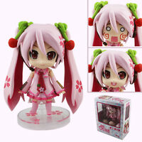 Cute ! Hatsune Miku Action 10cm Figure Cherry