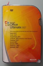Office 2007 Ultimate Retailbox 32Bit Deutsch Vollversion 76H-00053, Zweitlizenz