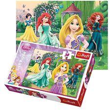 Trefl 30 Piece Kids Girls Disney Princesses Rapunzel Ariel Jigsaw Puzzle