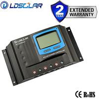 Solar Regulator 40A PWM 12v Caravan Charge Controller 40A PWM LCD Full Log USB