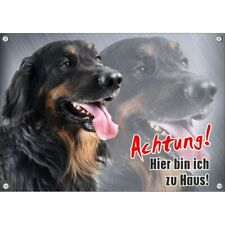 Dog Sign - Hovawart - High-Quality Metal without Rust And Resistant