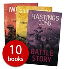 Battle Story: 10 Book Shrink Wrapped Pack by Various NEW #shlf inc. Hastings 106
