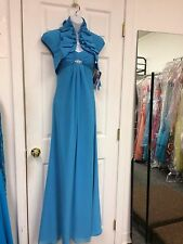 Modern Maids Turq Formal Evening Special Occasions Prom Dance Dress.2.$285.00