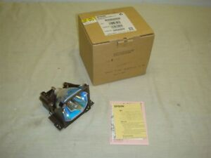 EPSON ELP-LP11 PROJECTOR REPLACEMENT LAMP/BULB WITH HOUSING -READ!