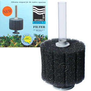Hydro Sponge Aquarium Filter 5 PRO, High Flow, By ATI/AAP; Authorized Seller