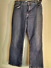 Vintage Levis 550 Relaxed Fit Boot Cut Red Tag Blue Denim Jeans Size 12 S