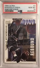 New listing 1994 Ultra Shaquille O'Neal Rebound Kings PSA 10