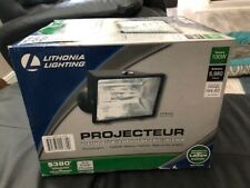 Lithonia Lighting 100W Metal Security Floodlight Ofl 100M 120 Lp Bz New!