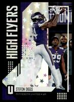 2018 Panini Unparalleled High Flyers Astral #18 Stefon Diggs /200