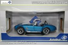 A/C SHELBY Cobra 427 MK II de 1965 Blue SOLIDO - SO 1850017 - Echelle 1/18