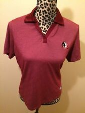 CUTTER AND BUCK - BURGUNDY & WHITE POLO - M