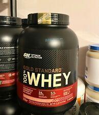 Optimum Nutrition Gold Standard Whey Protein Powder, Delicious Strawberry, 5 Lb
