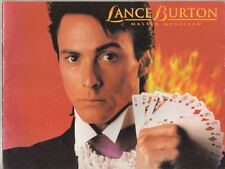 Lance Burton  Magician   Souvenir Program  Circa  2000  Full-Color  32  Pages