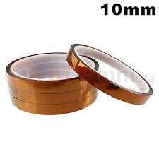 10mm Polyimide Tape Hitzebeständiges Klebeband Polyimid Kapton 3D Drucker 33m