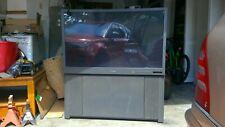 Mitsubishi Ws-48311 48 inch projection Tv retro black 2002 made in Mexico Crt Tv