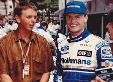 1995 Formula 1 Rothmans Williams Renault Coulthard Eriksson Monaco Gp Photo