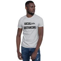 Socialism Distancing Funny Political Anti Socialism distance - Unisex T-Shirt