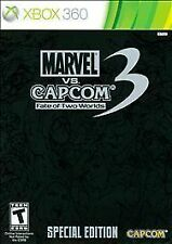 Marvel vs. Capcom 3: Fate of Two Worlds Special Edition Xbox 360, 2011 NEW