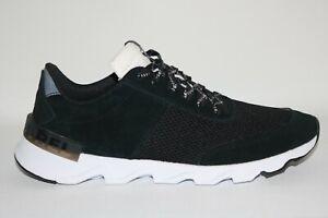 Sorel Womens Kinetic Lite Lace Up Athletic Sneaker Shoes Black White Size 10 M