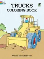Trucks Coloring Book [Dover Design Coloring Books]