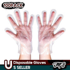 2000pcs Poly HDPE Food Handling Service Disposable Gloves (Latex Vinyl Free) -L