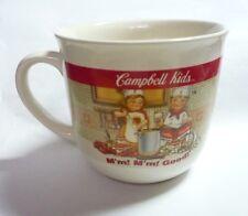 CAMPBELL'S Ceramic Soup MUG BOWL Breakfast MALAYSIA Cooking Design 90's RARE