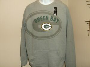 Green Bay Packers Sweatshirt Size Men's Large nwt Free Ship