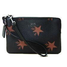 COACH CORNER ZIP WRISTLET IN STAR CANYON PRINT COATED CANVAS (F64239) BROWN MULT