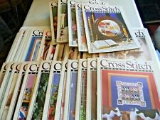 New ListingLot of 34 Cross Stitch & Country CraftMagazines Christmas Samplers Hardanger