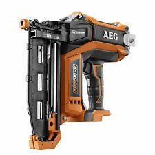 Brand AEG 18v Brushless 16GA Straight Brad Nailer – Skin Only