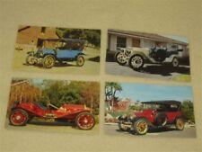 Vintage Car Service Reminder Postcards - Four (pkg#2)