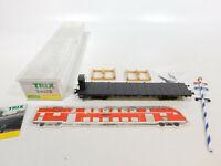 CK366-0,5# Trix Int. H0/DC 24072 Rungenwagen KBayStsB NEM KK + Maibaum, NEUW+OVP