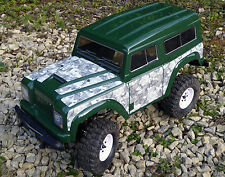 RC Rock Crawler WINTER CAMOUFLAGE Stickers Decal FTX RGT HSP OUTBACK LR RANGER