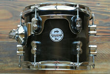 "PDP by DW 10"" CONCEPT MAPLE 7-PLY RACK TOM in EBONY STAIN for YOUR SET! LOT Z497"