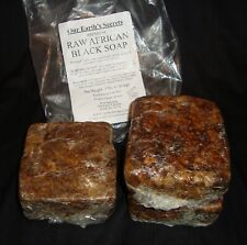 Our Earth's Secrets Premium Natural Raw African Black Soap 3 Lbs (1.36 kg)