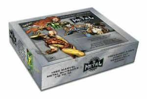 2021 Marvel X-Men Metal Universe Trading Cards Box Upper Deck (6/23)