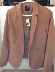 The LIMITED COLLECTION Women's Lined Brown Blazer Size 4 Petite New With Tags