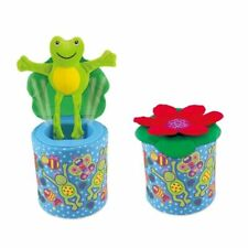 Galt Toys Frog in a Box Soft Game for Boy Girl Baby Kid Age 1 2 3 Year Old