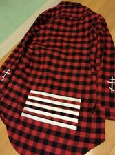 The Gazette - Red checker shirt - Japan Visual Kei Rad Market official mechs