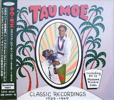 TAU MOE-CLASSIC RECORDINGS 1929-1949-IMPORT CD WITH JAPAN OBI F83