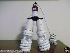400 WATT ENERGY SMART CFL GROW LIGHT KIT/ SET WITH 10 FOOT CORD&SOCKET