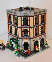 Modular Wine and Flower Shop Bauanleitung für LEGO (passt zu 10197 10211 10224)