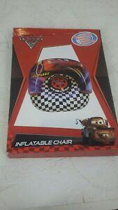 Disney Pixar Cars 2 Inflatable Chair Indoor Outdoor 54Cmx 47Cmx 40CM S119