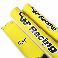 CW Racing Products Limited Edition BMX Legend FLITE Pads - Yellow / Black