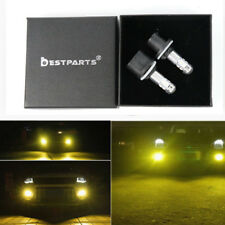 2x 880 3000K Yellow CREE 100W High Power LED Fog Light Driving Bulb DRL