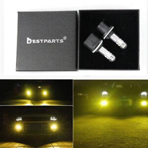 2x 880 3000K Yellow CREE 100W High Power LED Fog Light Driving Bulb DRL